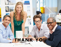 Business Thanks Photo Greeting Cards